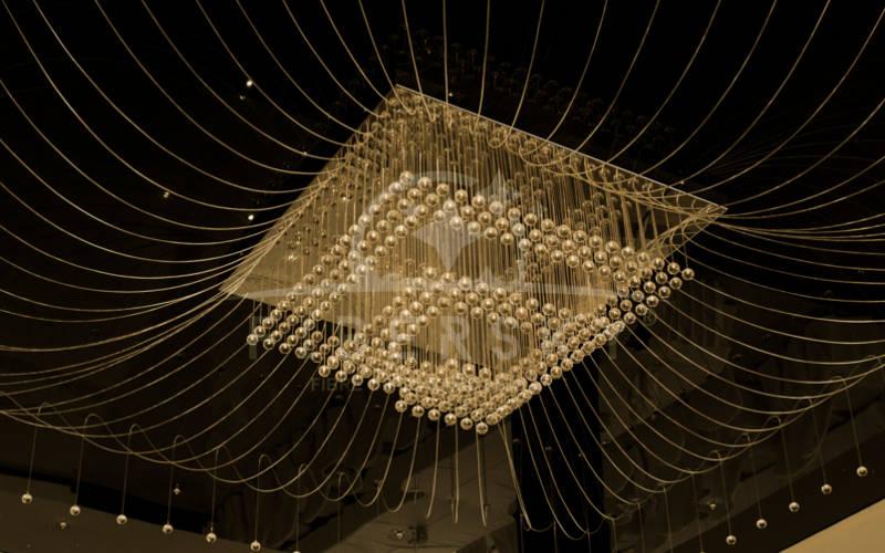 żyrandol światłowodowy Fibersky